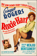 "Movie Posters:Comedy, Roxie Hart (20th Century Fox, 1942). Very Fine- on Linen. One Sheet(27.25"" X 41""). Comedy. From the Collection of Frank B..."