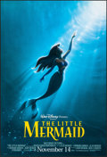 "Movie Posters:Animation, The Little Mermaid (Buena Vista, R-1997). Rolled, Very Fine/Near Mint. One Sheet (27"" X 40"") DS, Advance. John Alvin Artwork..."