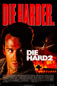 """Die Hard 2 & Other Lot (20th Century Fox, 1990). Rolled, Very Fine. One Sheets (2) (27"""" X 41"""" &amp..."""