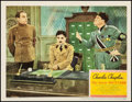 """Movie Posters:Comedy, The Great Dictator (United Artists, 1940). Fine+ on Paper. LobbyCard (11"""" X 14""""). Comedy. From the Collection of Frank Bu..."""