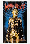 """Movie Posters:Science Fiction, Metropolis & Other Lot (Cinecom International, 1984). Rolled,Very Fine. Reproduction Posters (4) (36"""" X 24"""" - 26"""" X ..."""
