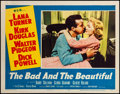 "Movie Posters:Drama, The Bad and the Beautiful (MGM, 1953). Very Fine-. Lobby Card (11""X 14""). Drama.. ..."