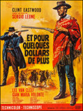 "Movie Posters:Western, For a Few Dollars More (United Artists, 1966). Folded, Very Fine+. French Grande (47"" X 61.75""). Jean Mascii Artwork. Wester..."