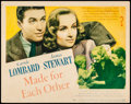 """Movie Posters:Drama, Made for Each Other (United Artists, 1939). Fine+. Title Lobby Card (11"""" X 14""""). Drama.. ..."""