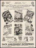 Movie Posters:Miscellaneous, Sack Amusement Enterprises Season 1947-48 (Sack Amusement ...