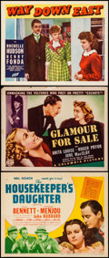 Movie Posters:Comedy, The Housekeeper's Daughter & Other Lot (United Artists, 1939).Fine/Very Fine. Title Lobby Cards (2) & Lobby Card (11...