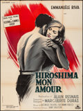"Movie Posters:Foreign, Hiroshima, mon amour (Cocinor, 1959). Fine/Very Fine. French Grande (47"" X 63"") Boris Grinsson Artwork. Foreign.. ..."