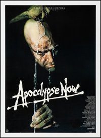 "Apocalypse Now (Tobis, 1979). Very Fine- on Linen. German A1 (23.5"" X 33""). Bob Peak Artwork. War"
