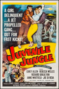 "Movie Posters:Crime, Juvenile Jungle (Republic, 1958). Flat Folded, Very Fine-. One Sheet (27"" X 41""). Crime.. ..."