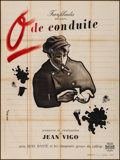 """Movie Posters:Foreign, Zero for Conduct (Franfilmdis, R-1946). Folded, Fine+. FrenchGrande (47"""" X 63"""") Jean Colin Artwork. Foreign.. ..."""