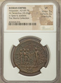 Ancients:Roman Imperial, Ancients: Vespasian (AD 69-79). AE sestertius (34mm, 23.26 gm, 6h).NGC VF 5/5 - 3/5, Fine Style....
