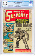 Silver Age (1956-1969):Superhero, Tales of Suspense #39 (Marvel, 1963) CGC FR/GD 1.5 Cream tooff-white pages....