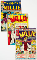Silver Age (1956-1969):Romance, Millie the Model Group of 18 (Marvel, 1965-73) Condition: AverageFN.... (Total: 18 Comic Books)