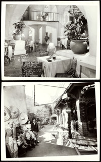 "Casablanca (Warner Brothers, 1942). Very Fine+. Original Set Continuity Photos (45) (4"" X 5"") in Hardcover Pho..."