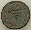 Ancients:Roman Imperial, Ancients: Septimius Severus (AD 193-211). AE as (24mm, 9.02 gm,12h). VF....