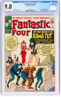 Fantastic Four #19 (Marvel, 1963) CGC VF/NM 9.0 Off-white to white pages