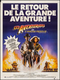 "Movie Posters:Adventure, Raiders of the Lost Ark (CIC, R-1982). Folded, Very Fine-. FrenchGrande (47"" X 63"") Style B, Drew Struzan Artwork. A..."