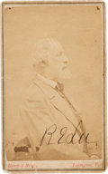 Autographs:Military Figures, Robert E. Lee: Boldly Signed Carte-de-Visite of Lee as President ofWashington College....