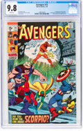 Bronze Age (1970-1979):Superhero, The Avengers #72 (Marvel, 1970) CGC NM/MT 9.8 White pages....