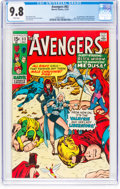 Bronze Age (1970-1979):Superhero, The Avengers #83 (Marvel, 1970) CGC NM/MT 9.8 White pages....