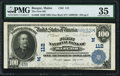 National Bank Notes:Maine, Bangor, ME - $100 1902 Date Back Fr. 689 The First NB Ch. # (N)112PMG Choice Very Fine 35.. ...