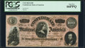 Confederate Notes:1864 Issues, T65 $100 1864 PF-3 Cr. 494 PCGS Gem New 66PPQ.. ...