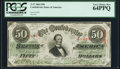 Confederate Notes:1863 Issues, T57 $50 1863 PF-16 Cr .413 PCGS Very Choice New 64PPQ.. ...