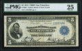 Fr. 808 $5 1915 Federal Reserve Bank Note PMG Very Fine 25