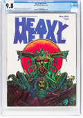 Magazines:Science-Fiction, Heavy Metal #14 (HM Communications, 1978) CGC NM/MT 9.8 White pages....