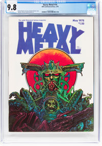 Heavy Metal #14 (HM Communications, 1978) CGC NM/MT 9.8 White pages