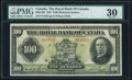 Canadian Currency, Montreal, PQ- Royal Bank of Canada $100 3.1.1927 Ch.# 630-14-20 PMGVery Fine 30.. ...