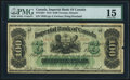Canadian Currency, Toronto, ON- Imperial Bank of Canada $100 2.1.1917 Ch.# 375-16-24 PMG Choice Fine 15.. ...