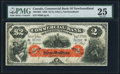 Canadian Currency, St. John's, NF- Commercial Bank of Newfoundland $2 3.1.1888 Ch.# 185-18-04 PMG Very Fine 25.. ...