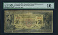 Canadian Currency, Toronto, ON- Canadian Bank of Commerce $50 2.1.1917 Ch.#75-16-04-22 PMG Very Good 10.. ...