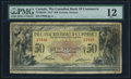 Canadian Currency, Toronto, ON- Canadian Bank of Commerce $50 2.1.1917 Ch.#75-16-04-24 PMG Fine 12.. ...