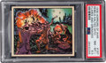 Non-Sport Cards:Singles (Pre-1950), 1938 R69 Horrors of War - Rebels Halted With Flares And Grenades #187 PSA NM-MT+ 8.5. . ...