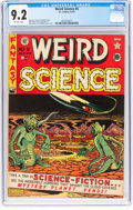 Golden Age (1938-1955):Science Fiction, Weird Science #6 (EC, 1951) CGC NM- 9.2 Off-white pages....