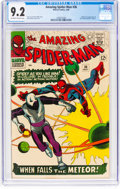 Silver Age (1956-1969):Superhero, The Amazing Spider-Man #36 (Marvel, 1966) CGC NM- 9.2 Off-white towhite pages....