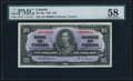 Canadian Currency, BC-24a $10 2.1.1937 Serial Number 41 PMG Choice About Unc 58.. ...