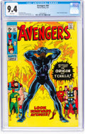 Bronze Age (1970-1979):Superhero, The Avengers #87 (Marvel, 1971) CGC NM 9.4 White pages.