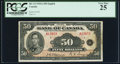 Canadian Currency, BC-13 $50 1935A PCGS Very Fine 25.. ...