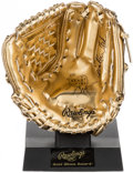 Autographs:Others, Carlton Fisk Signed Mini Gold Glove....
