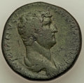 Ancients:Roman Imperial, Ancients: Hadrian (AD 117-138). AE sestertius (31mm, 22.64 gm, 6h).VF....