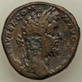 Ancients:Roman Imperial, Ancients: Commodus (AD 177-192). AE sestertius (30mm, 24.98 gm,12h). VF....