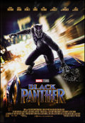 "Movie Posters:Action, Black Panther (Walt Disney Studios, 2018). Rolled, Very Fine+. One Sheet (27"" X 39.5"") DS. Action.. ..."