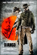 "Movie Posters:Western, Django Unchained (Weinstein, 2012). Rolled, Very Fine/Near Mint.One Sheet (27"" X 40"") DS Advance. Western.. ..."