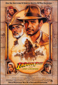 """Movie Posters:Action, Indiana Jones and the Last Crusade (Paramount, 1989). Rolled, Near Mint. One Sheet (27"""" X 40"""") SS Advance, Style A. Drew Str..."""