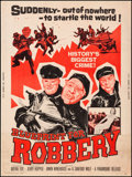 """Movie Posters:Crime, Blueprint for Robbery & Other Lot (Paramount, 1961). Rolled, Overall: Fine/Very Fine. Posters (2) (30"""" X 40""""). Crime.. ... (Total: 2 Items)"""