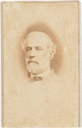 "Photography:CDVs, Robert E. Lee: ""Floppy Tie"" Carte-de-Visite [CDV] by Vannerson...."