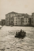 Photographs:Gelatin Silver, Jefferson Hayman (American, b. 1969). Andrews Lake, Arno River, and Venice (three works). Gelatin silver. 7-1/2 x 5-... (Total: 3 Items)
